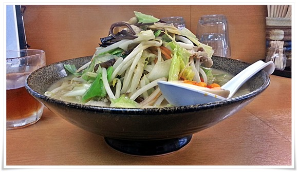 野菜たっぷりちゃんぽん@焼麺屋 虎之介