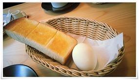 モーニングサービスのトースト@コメダ珈琲