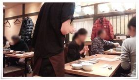 店内の様子@もつ鍋おおやま 博多駅店