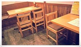 テーブル席@大衆酒場 味のろくでん