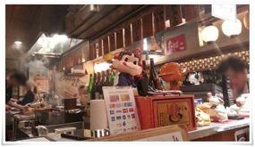 ペコちゃん人形@日本再生酒場 博多店