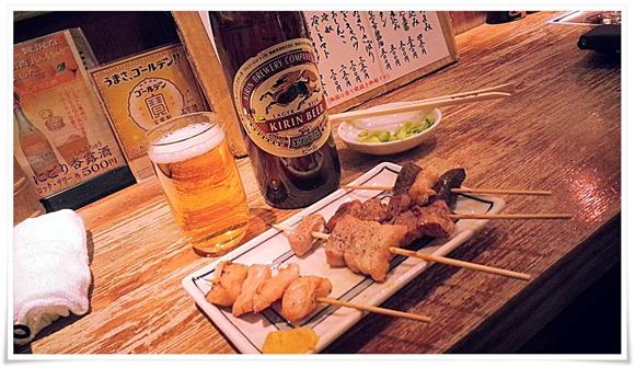 瓶ビールは大瓶です@日本再生酒場 博多店