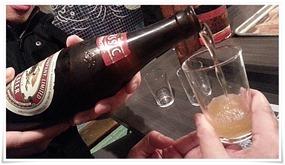 瓶ビールで乾杯@対洲軒(たいしゅうけん)