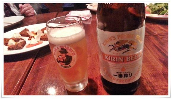 ビールで乾杯@AQUA VITAE(アクア・ヴィータ)