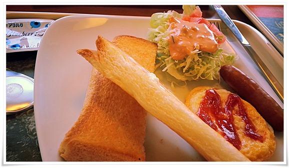 トーストが薄い@モスバーガー日南店