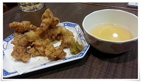 鶏天@立ち食い飲みそば屋 雅隆製麺