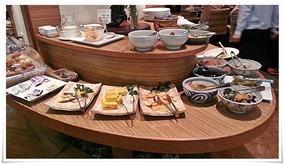 朝食バイキング料理@カフェ・ド・ナチュレ