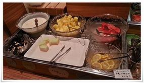 朝食バイキングのデザート@カフェ・ド・ナチュレ