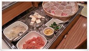 朝食バイキングの明太子@カフェ・ド・ナチュレ