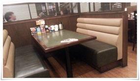 テーブル席@とんかつ浜勝 北九州陣山店