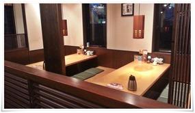 座敷テーブル席@とんかつ浜勝 北九州陣山店