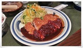 味噌ダレロースかつ@とんかつ浜勝 北九州陣山店