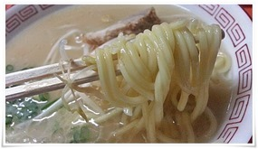 中太ストレート麺@宝来(ほうらい)ラーメン