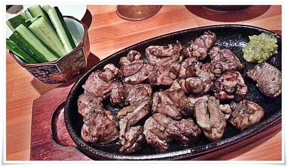 はまゆう鶏のもも焼き@郷土旬彩 もも鐵 えん