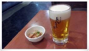 生ビールで乾杯@しらすくじら エキサイド店