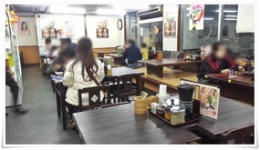 店内の様子@資さんうどん 中央町店