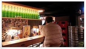 店内奥のカウンター席@よかたいマイング店