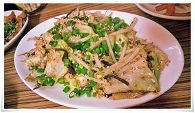 野菜炒め(時価)@ラーメン天晴(あっぱれ)