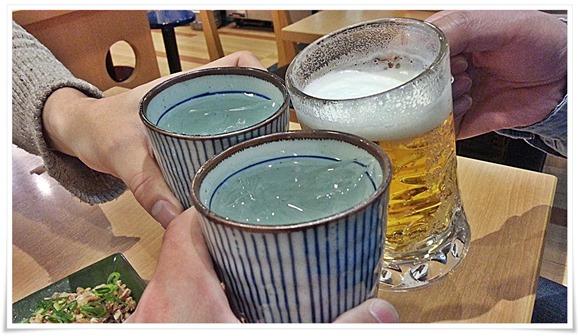 焼酎で乾杯!@ラーメン めん吉