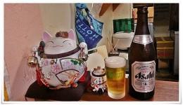 ラーメン天晴の招き猫と乾杯