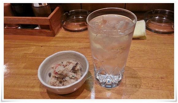 焼酎グラスがデカイ@鉄板居酒屋 英太朗