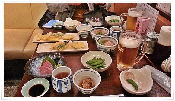 生ビールセット料理の数々@石蔵