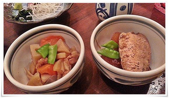 がめ煮&ぶり大根@博多鯛めしと日本料理 石蔵