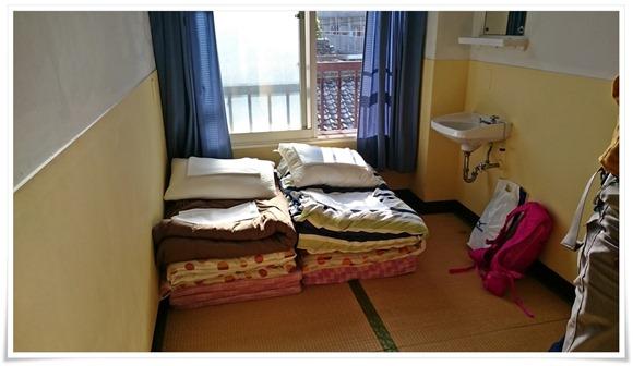 宿泊した部屋@別府ゲストハウス