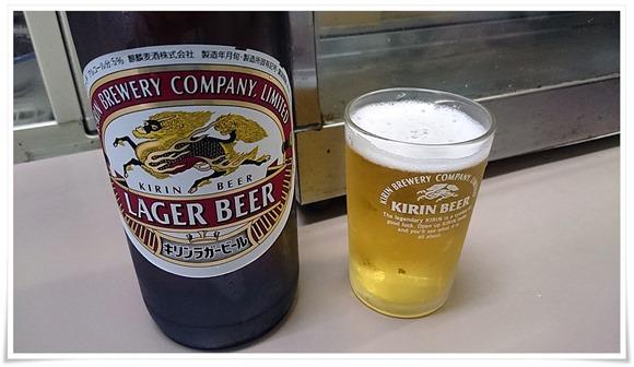 瓶ビールで乾杯@石井酒店