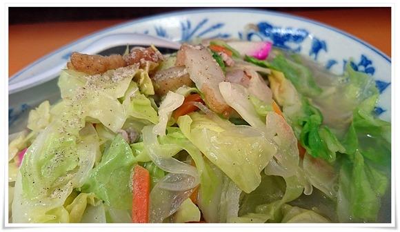 素敵な野菜の盛り具合@桃園(とうえん)