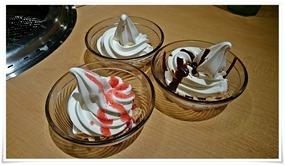 ソフト3種類@焼肉きんぐ 北九州黒崎店