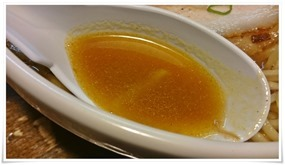 スープはアッサリ@笑味食堂 まねしん坊