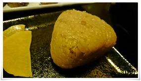 鶏飯おにぎり@宮崎名物 地鶏もも焼 翔