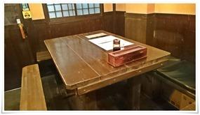 テーブル席@餃子屋 東天紅 黒崎