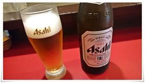 瓶ビールで乾杯@スタミナ焼 盛々(もりもり)