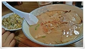 チャーシュー麺&焼飯@ラーメン天晴