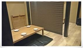 掘り炬燵テーブル席@西本町くわんかや