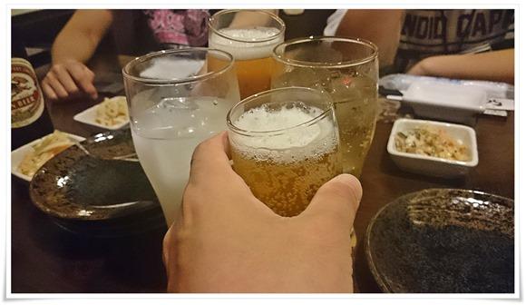 ようやく乾杯@旬鮮創菜 ルート590
