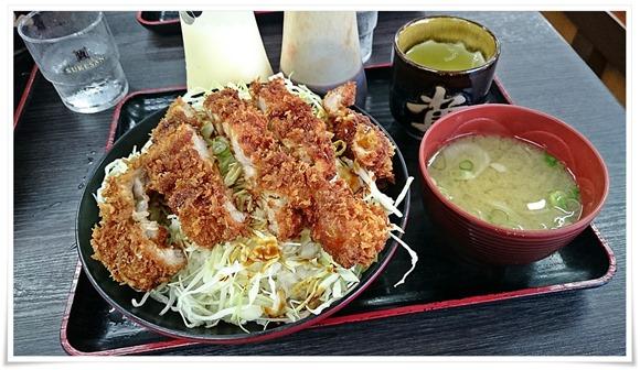 ソースチキンカツ丼@資さんうどん 中央町店