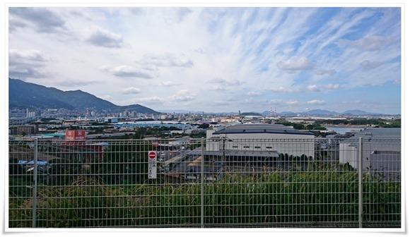 BBQ会場からの風景@野外貸しバーベキュー場 八幡村