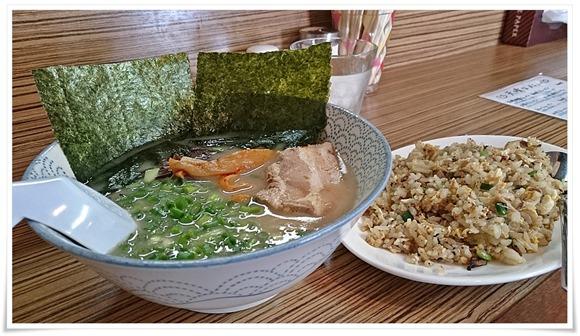 次の日のお昼ご飯@ラーメン天晴(あっぱれ)