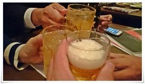 ビールで乾杯@風来坊黒崎店