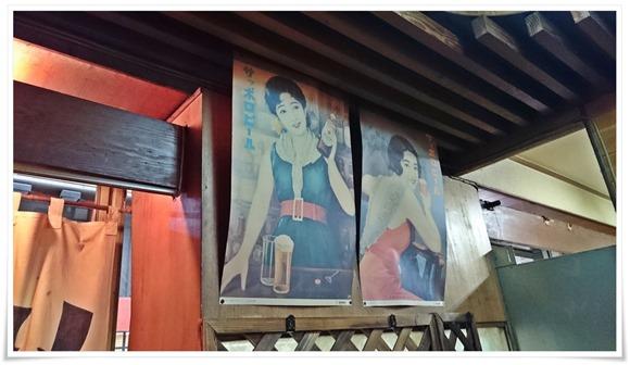 サッポロビールのポスター@いのくち酒店