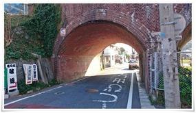 赤煉瓦のトンネルをくぐり@宮原酒店