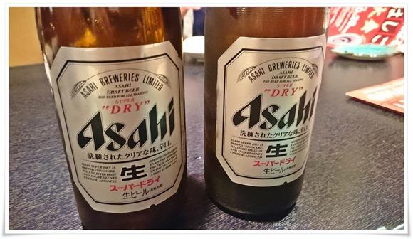 瓶ビール追加@魚料理 福助