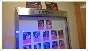 店頭の案内@JUKE BOX