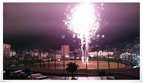 フィナーレの花火@まつり起業祭八幡2015