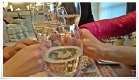 シャンパンで乾杯@忘年会