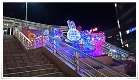 黒崎駅前の階段@八右衛門(はちえもん)