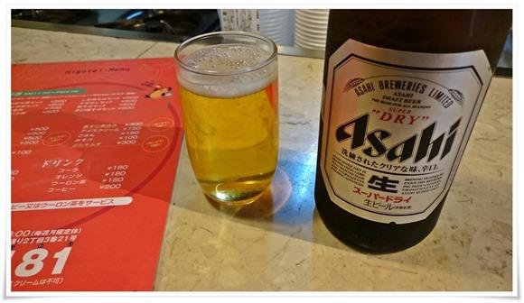 瓶ビールで乾杯@肥後亭(ひごてい)